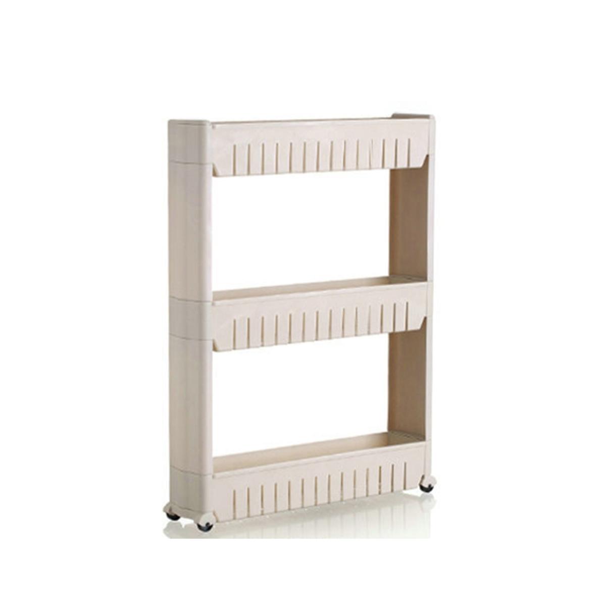 3 Tiers narrow organizer rack - HG137203GY (Gray)