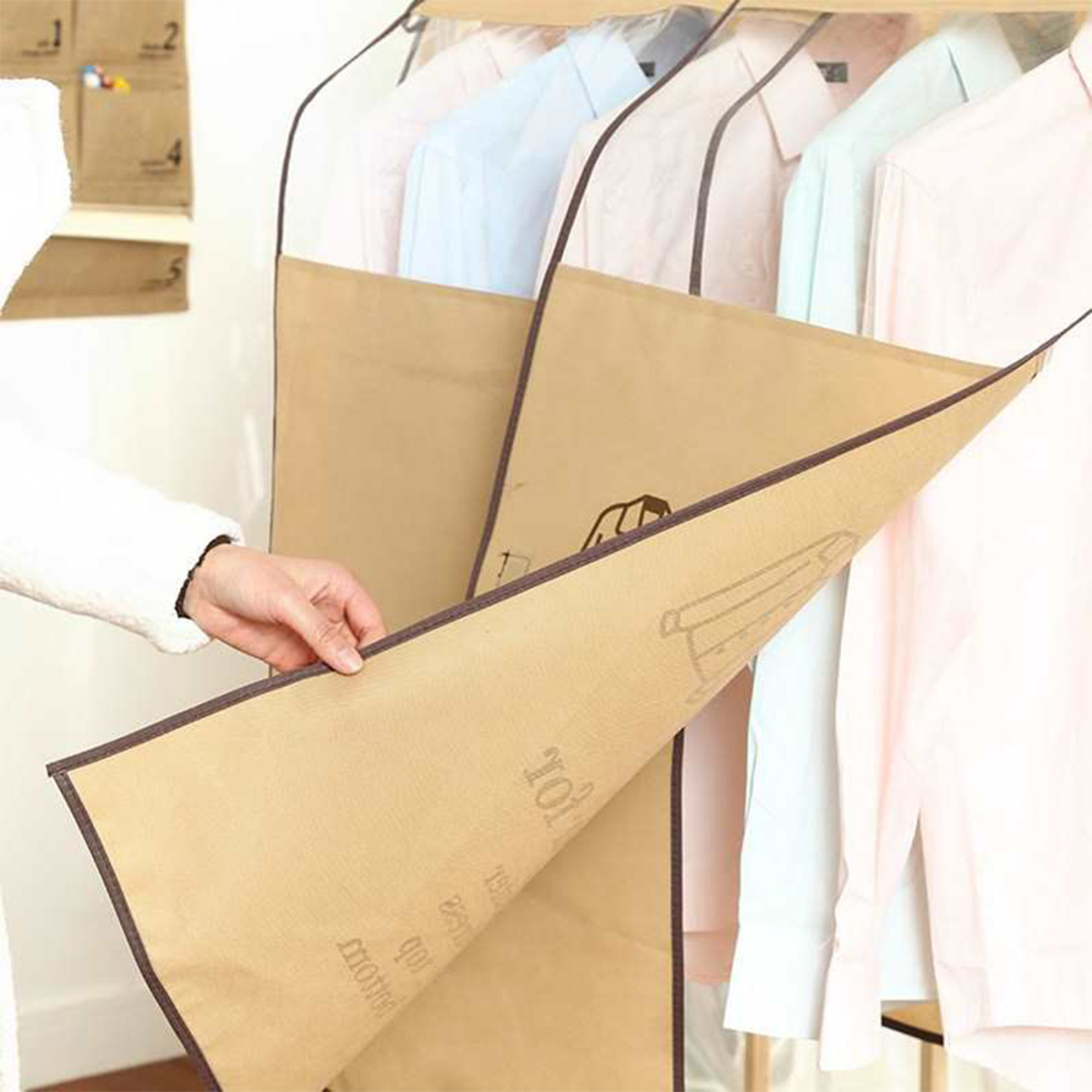 Clothes Covers - HG3030 (Beige)