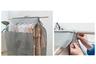 衣物防塵罩 (2個) - HG3030 (灰色)