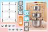 3 Tiers kitchen pot rack - HG353503