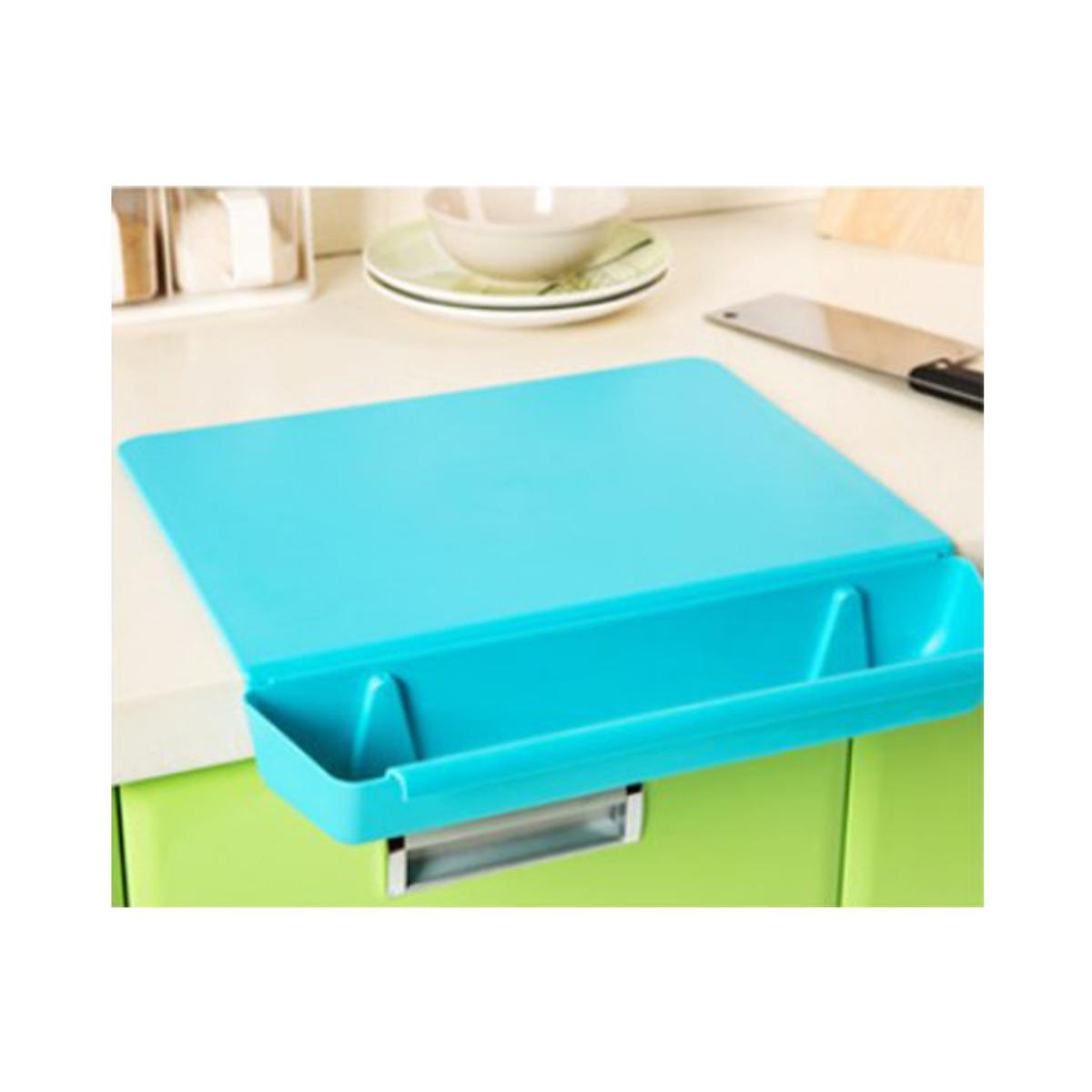 廚房二合一砧板 - HG3829 (藍色)