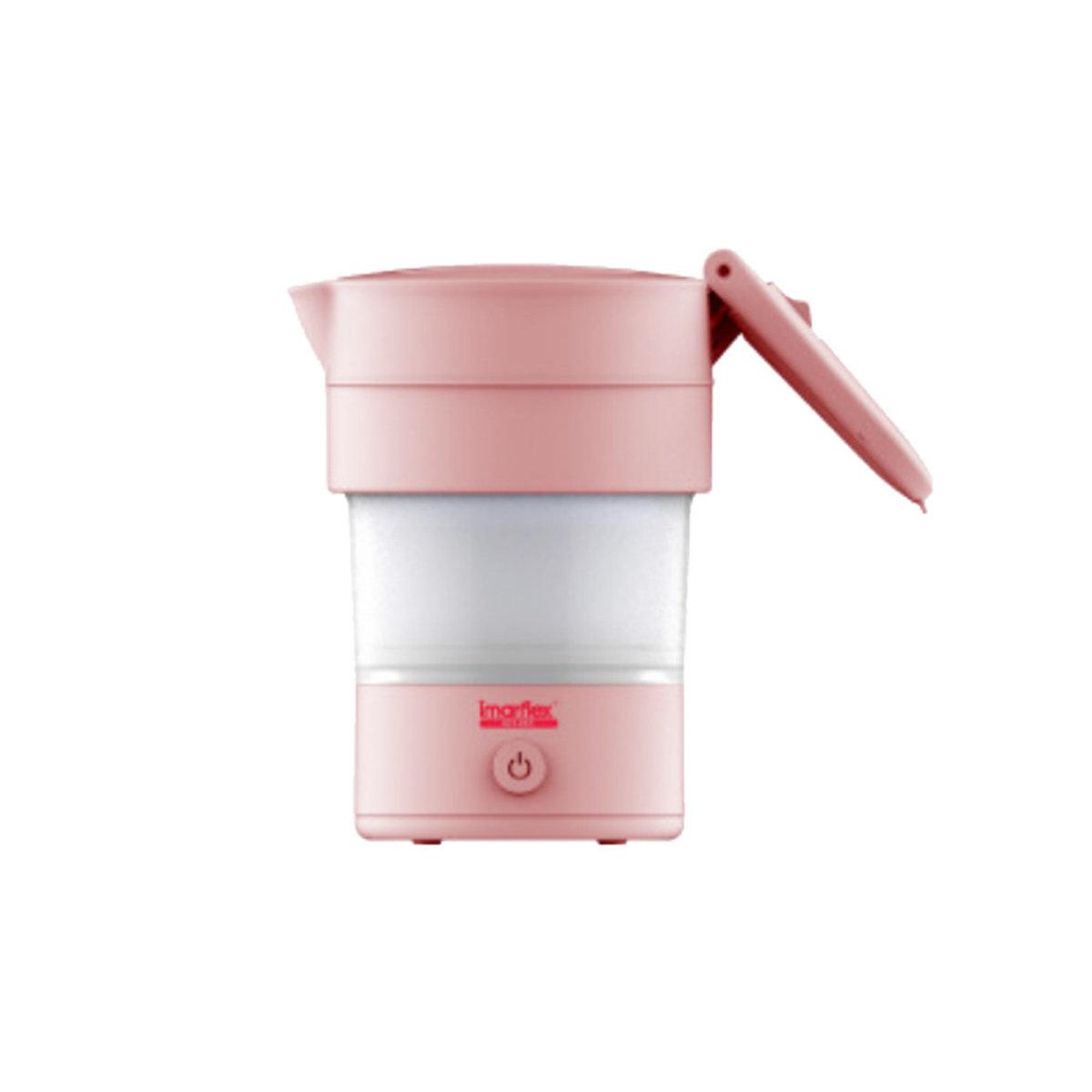 Foldable Travel Kettle - IKT-06T (Pink)