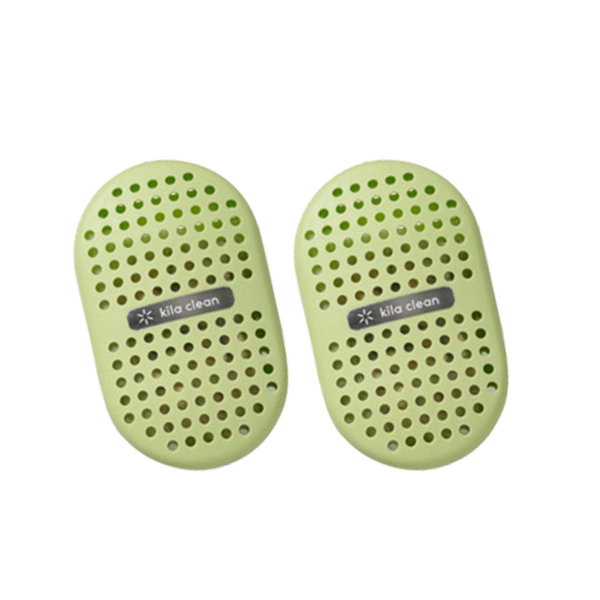 Clean 光觸媒吸臭除菌盒 (一包兩個) (日本製) (綠色)