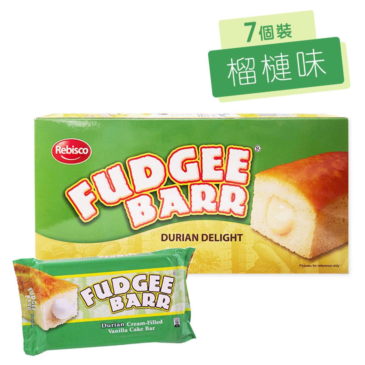Fudgee Barr 榴槤味蛋糕 (7個/盒)