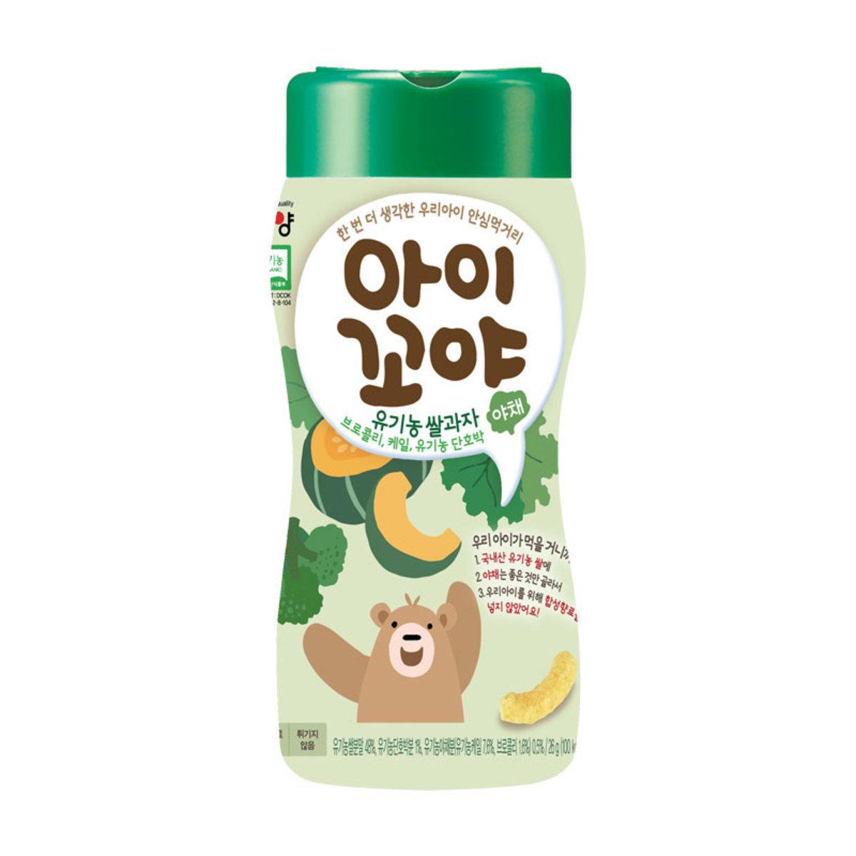 Namyang Organic Rice Snack(Pumpkin & Vegetables Flavour)