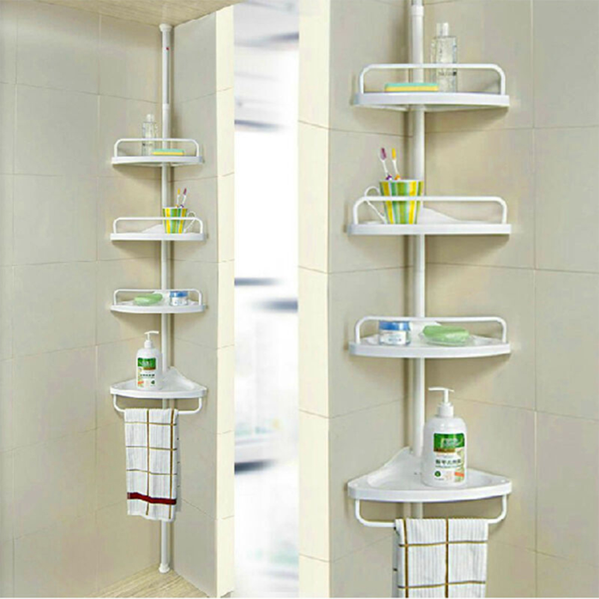 Bathroom floor to ceiling rack - SQ-1908