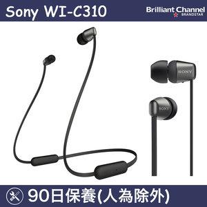 SONY WI-C310 無線入耳式耳機 (黑色) (平行進口)