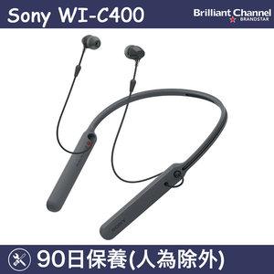 SONY WI-C400 無線入耳式耳機 (黑色) (平行進口)