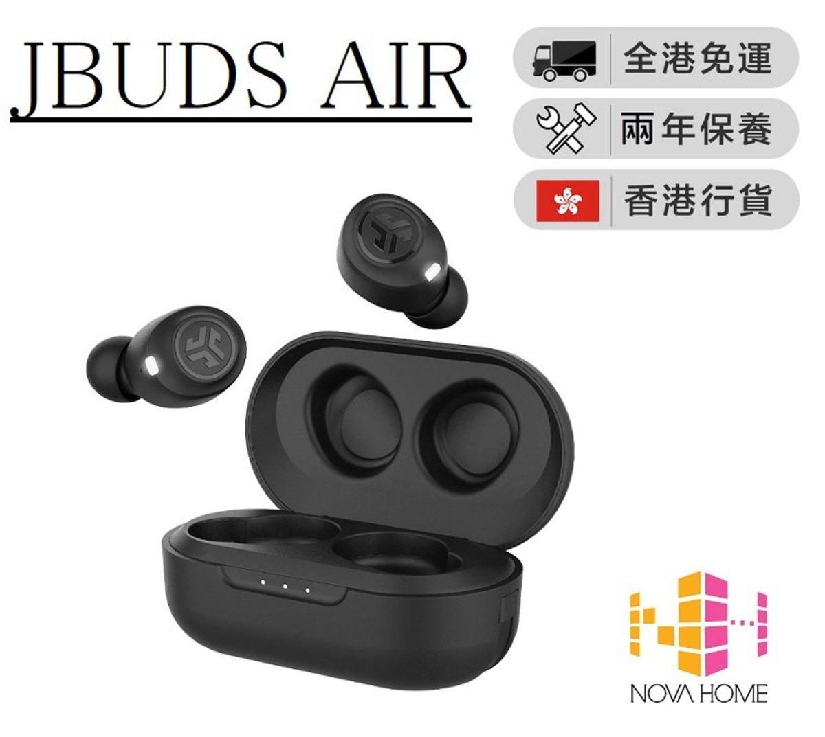 JLab Audio - JBUDS AIR 真無線藍牙5.0防水耳機 黑色
