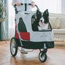 701GX-RD Pet Stroller (Red)