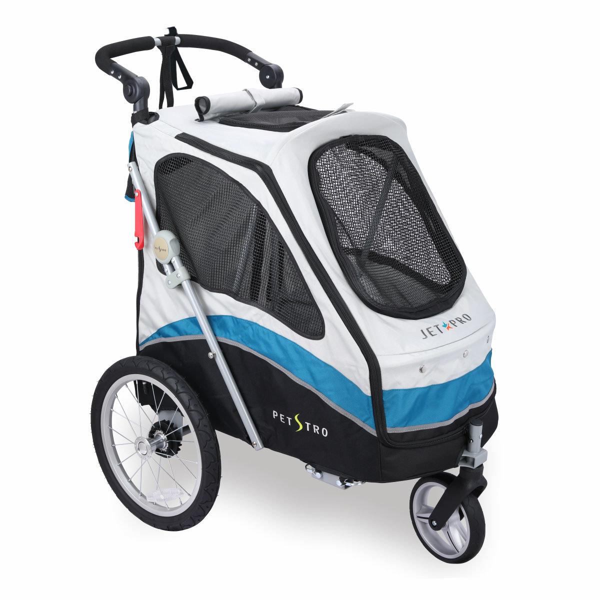 706GX-WB Pet Stroller (Wing/Blue)