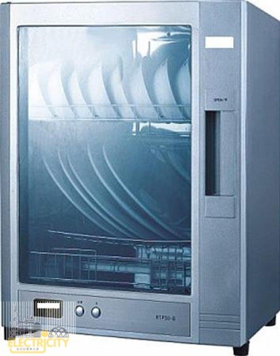 SK-50 44L 單門光波可掛式消毒碗櫃