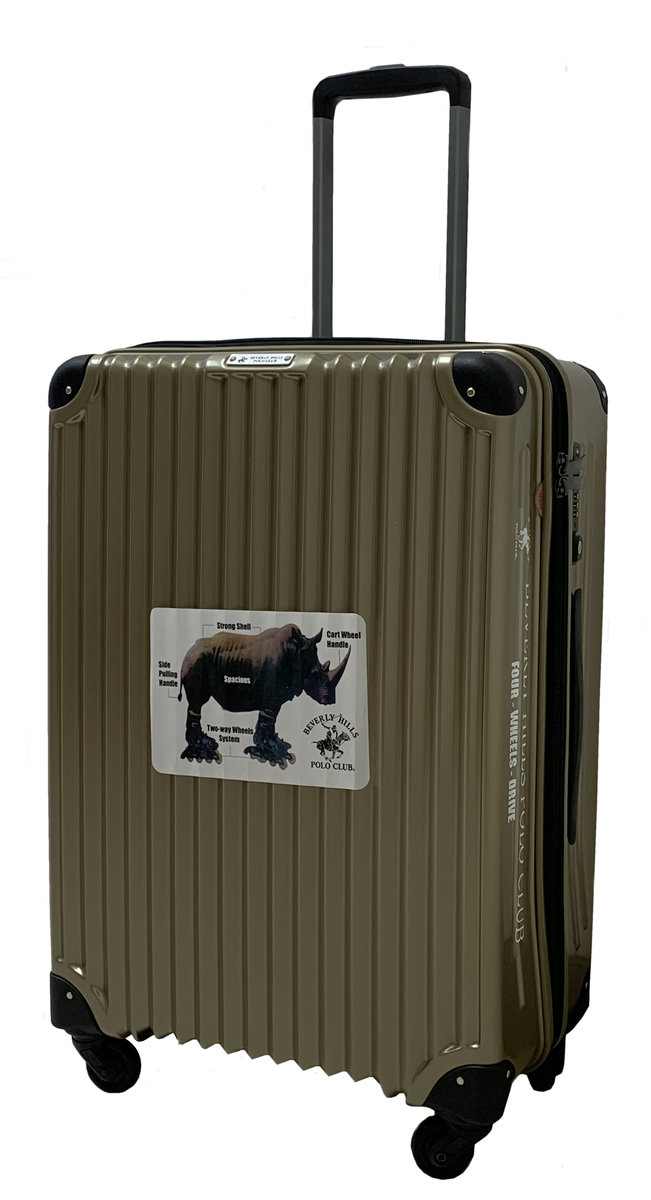 20吋拉捍行李箱 (香檳色)|型號: 28-BH039z|拉桿車 拉桿箱