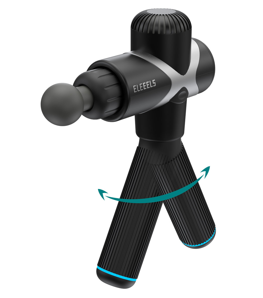 X1T Percussive Massage Gun [Metallic Black] (Present Receipt to Receive Complimentary Carrying Case)