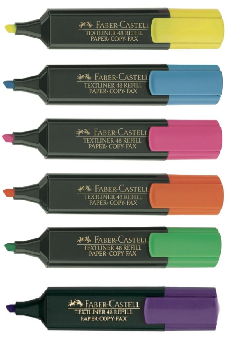 螢光筆 (6色)