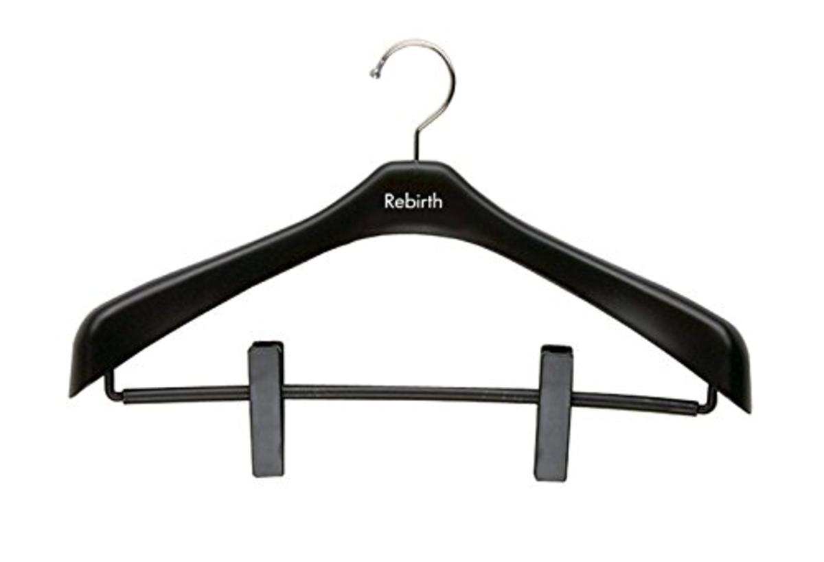 Rebirth Coat Hanger w/Clips 42  X 2pcs (SJ-056288)