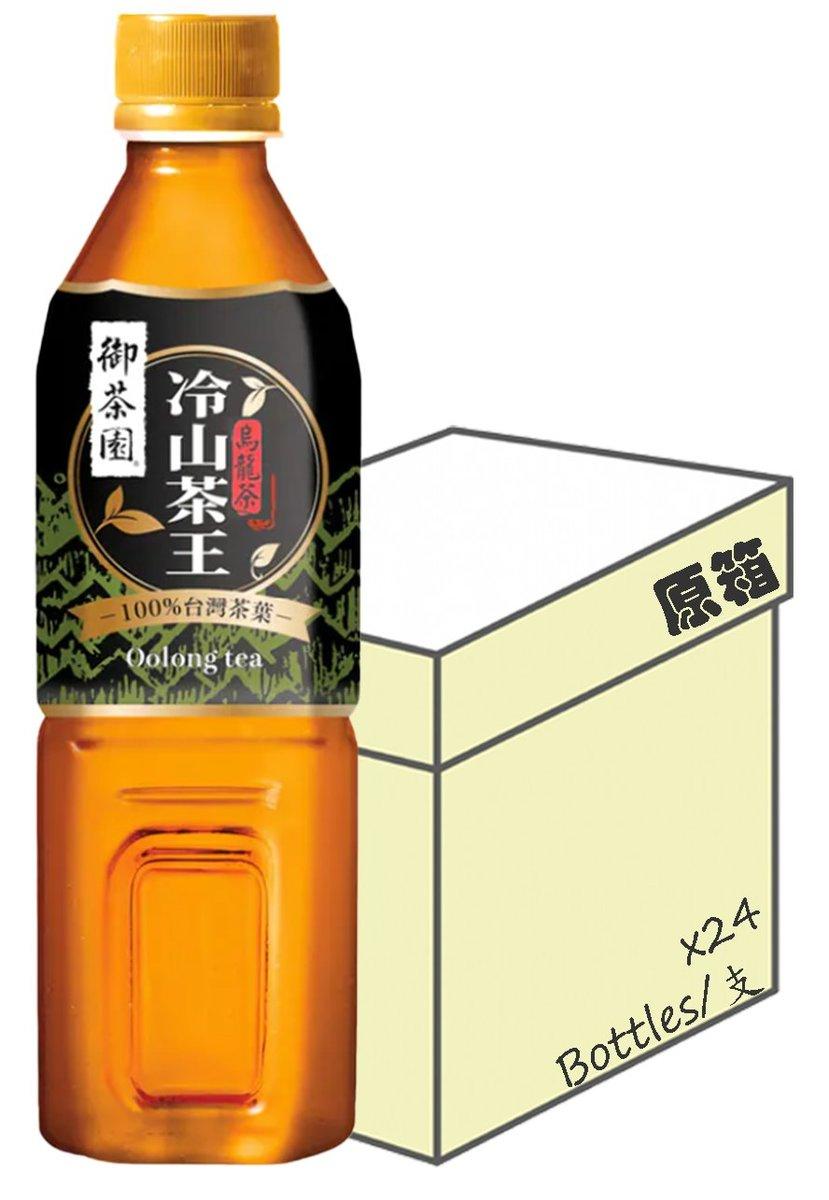 [Full case] Premium Oolong Tea (500ml X 24)