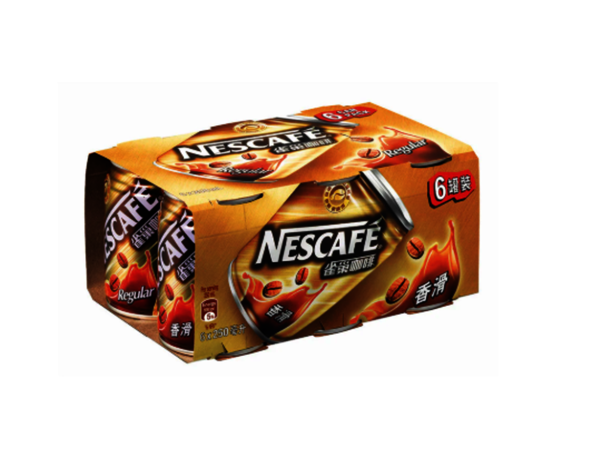 Coffee Beverage(Regular) [6 cans] X 2