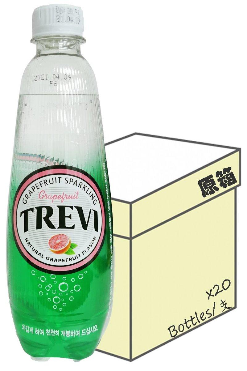 [原箱] Trevi 西柚味有氣水  (500毫升 X 20)