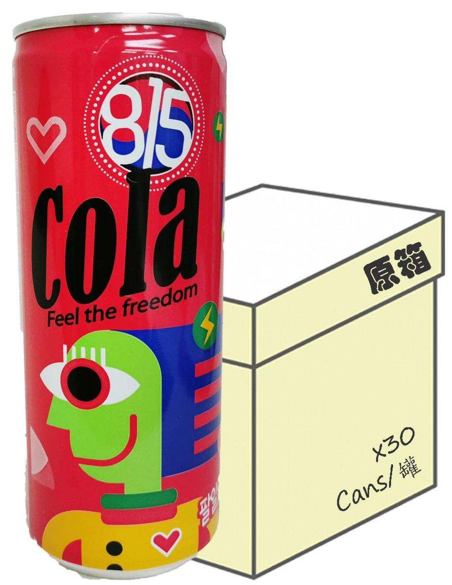 [原箱] 韓國版 815可樂 (250毫升 X 30)
