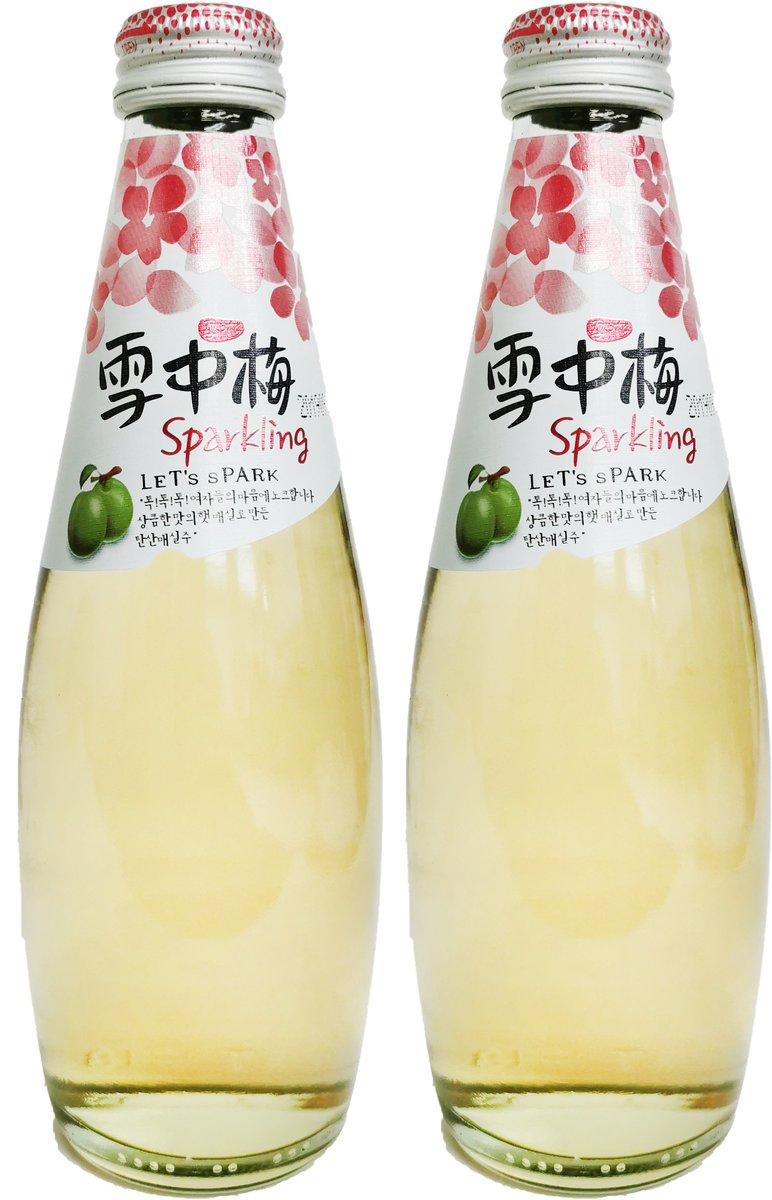 雪中梅有氣梅酒 10%.酒精 (300毫升 X 2)