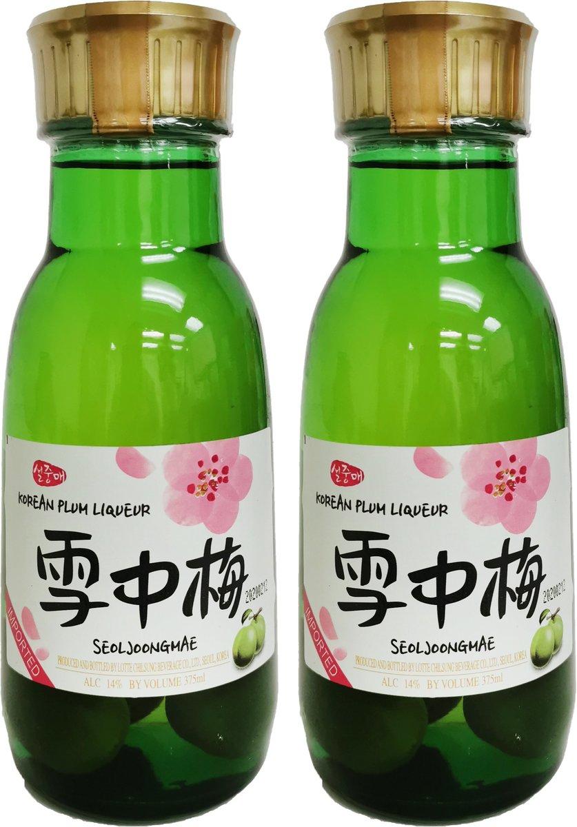 雪中梅梅酒 14%酒精 (375毫升 X 2)