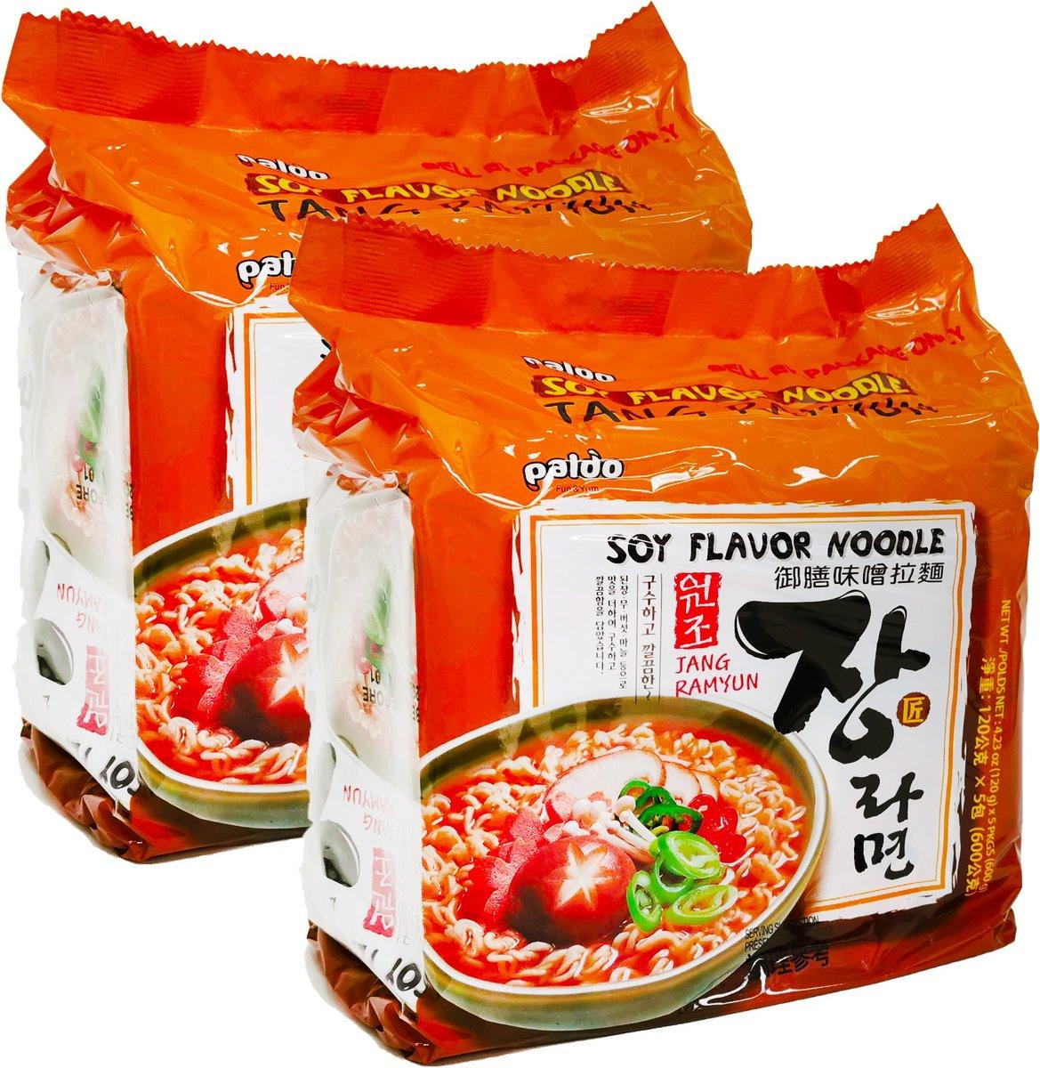 御膳味噌拉麵 (120克 X 5 X 2)