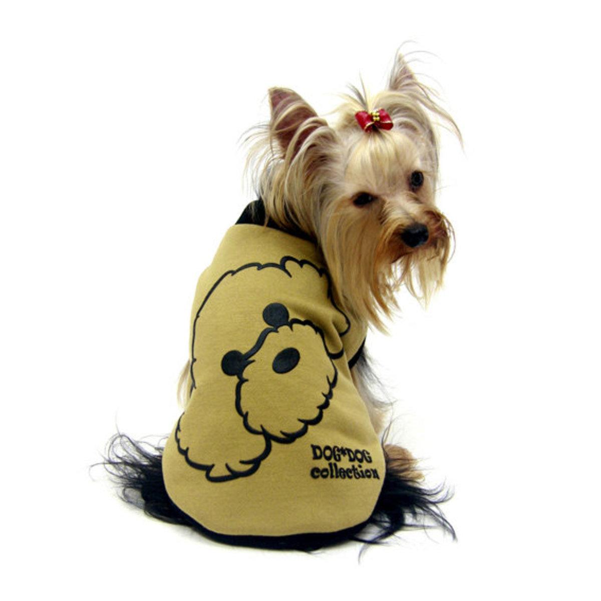 Dog Clothes Reversible T-shirt