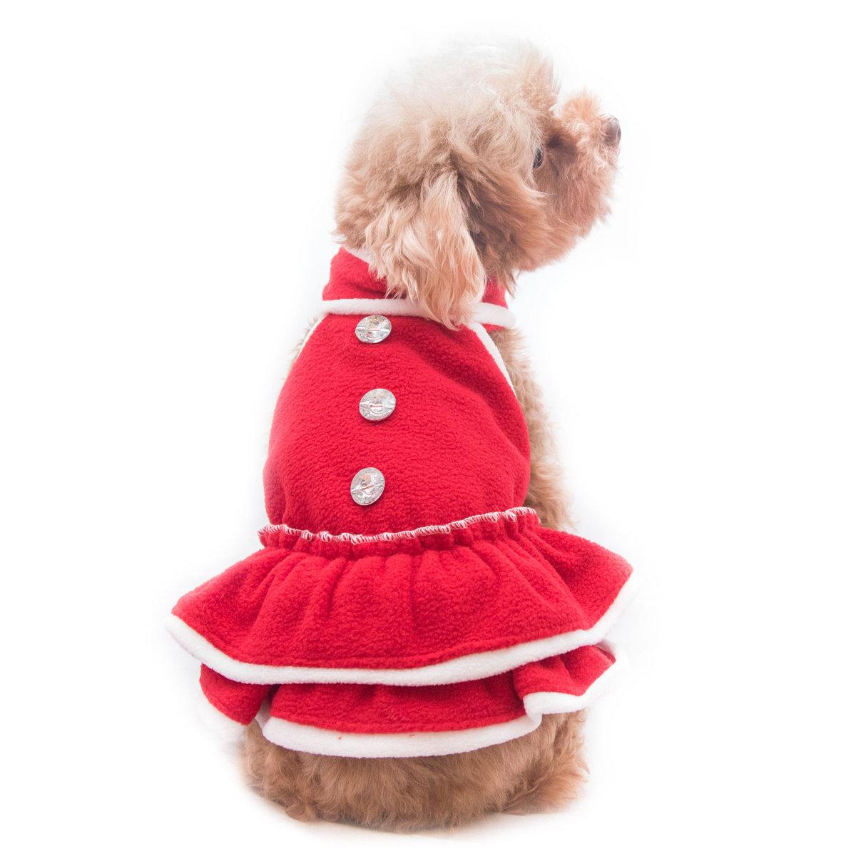 優雅寵物聖誕裙 狗狗聖誕裙