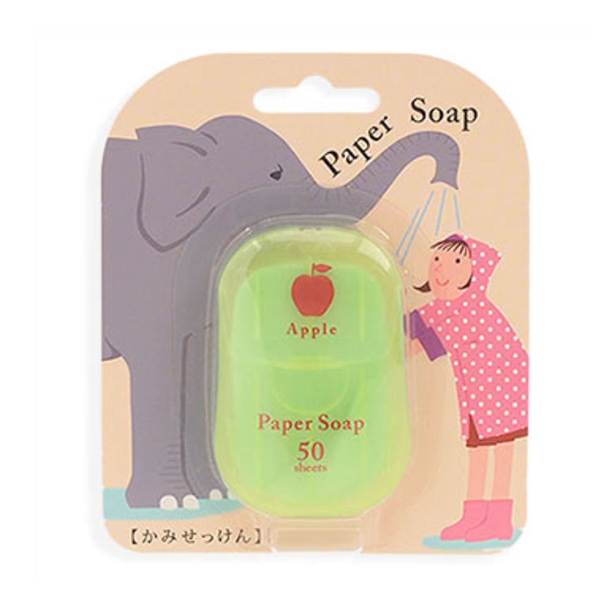 Apple Scent Paper Soap
