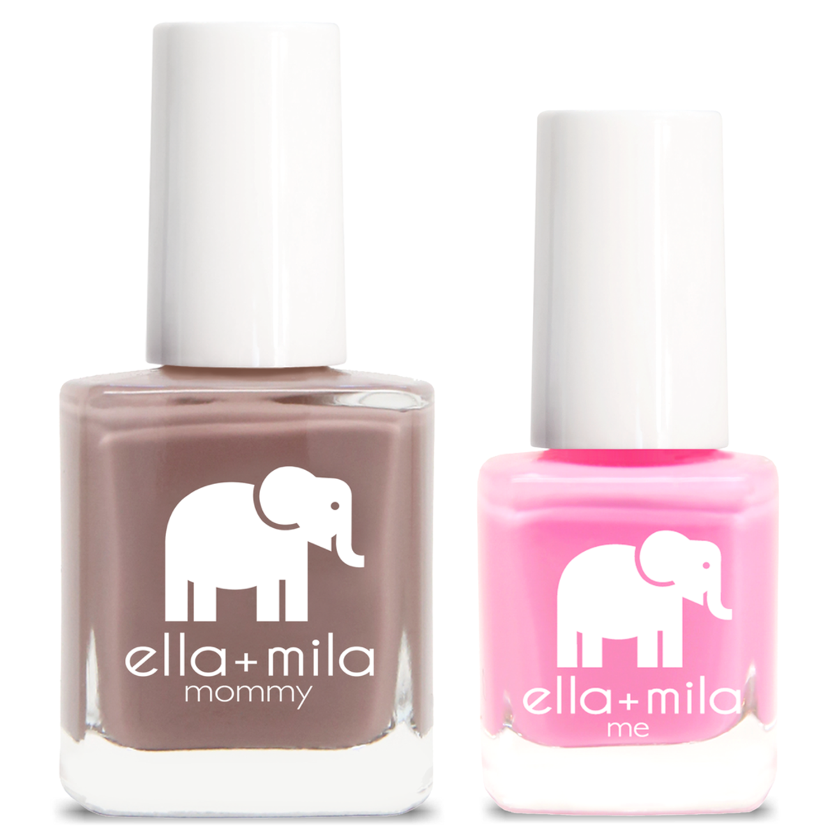 Mommy & Me Nail Polish Set - Cup O'Latte + Pinkterest