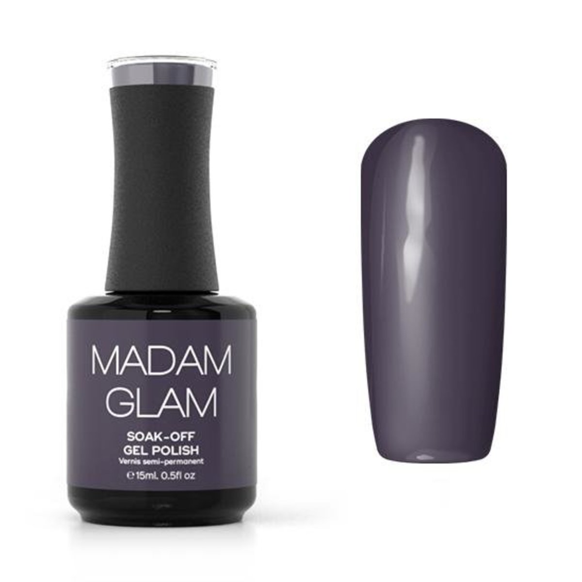 Soak Off Gel - Nightime Mauve
