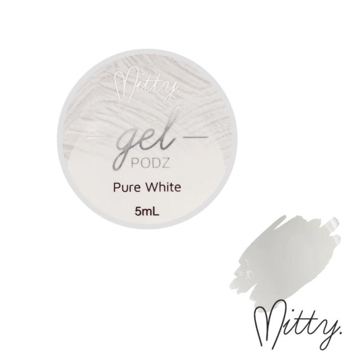 Gel PODZ Art Gel - Pure White