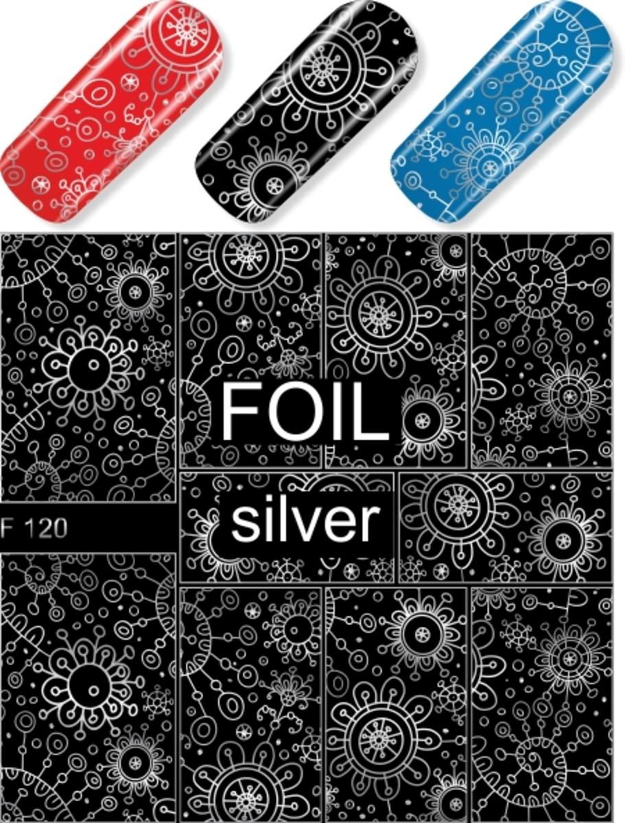 水印貼 F120(銀色)