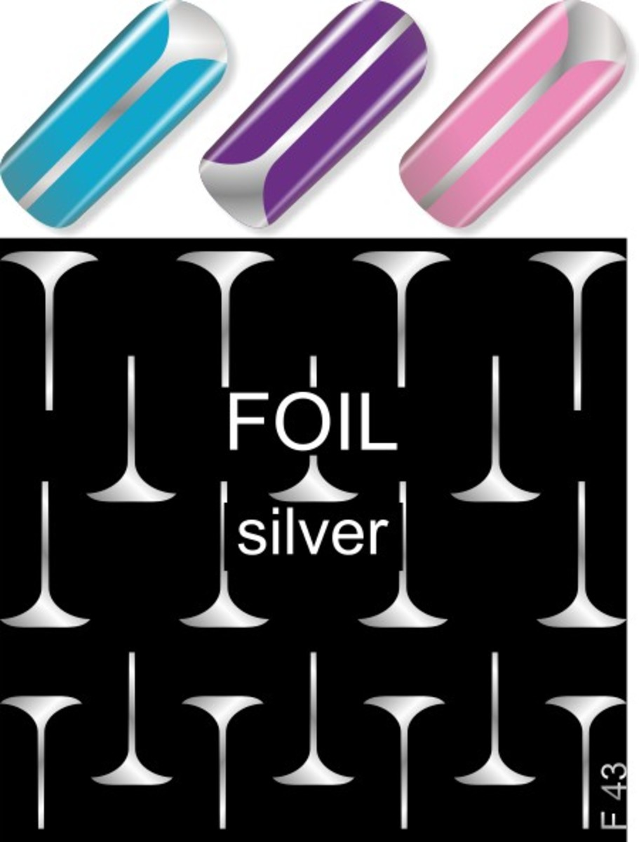 Water Decal F43 (Silver)