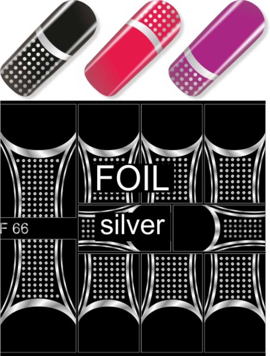 Water Decal F66 (Silver)