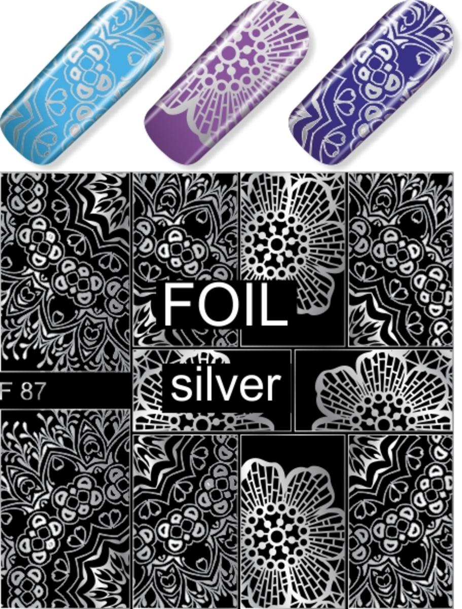 水印貼 F87(銀色)