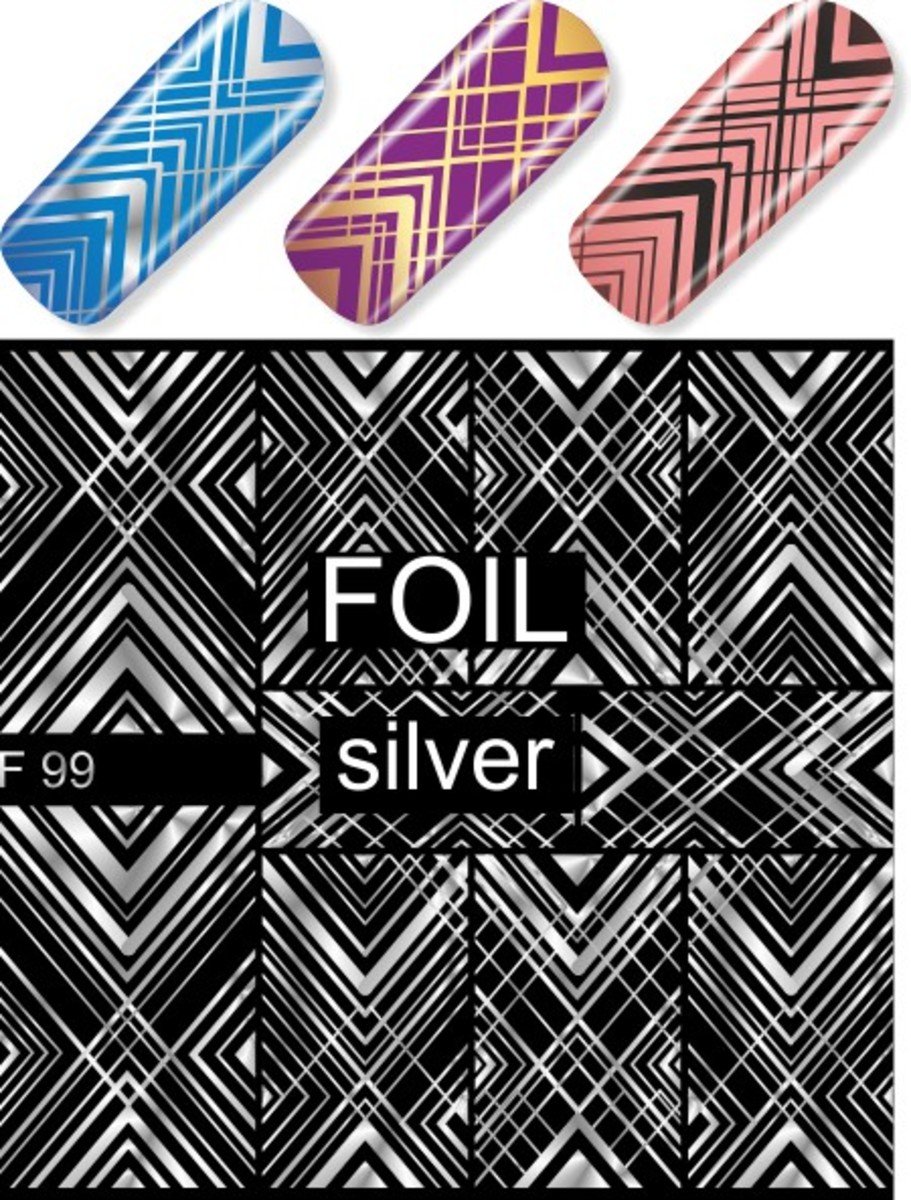 Water Decal F99 (Silver)