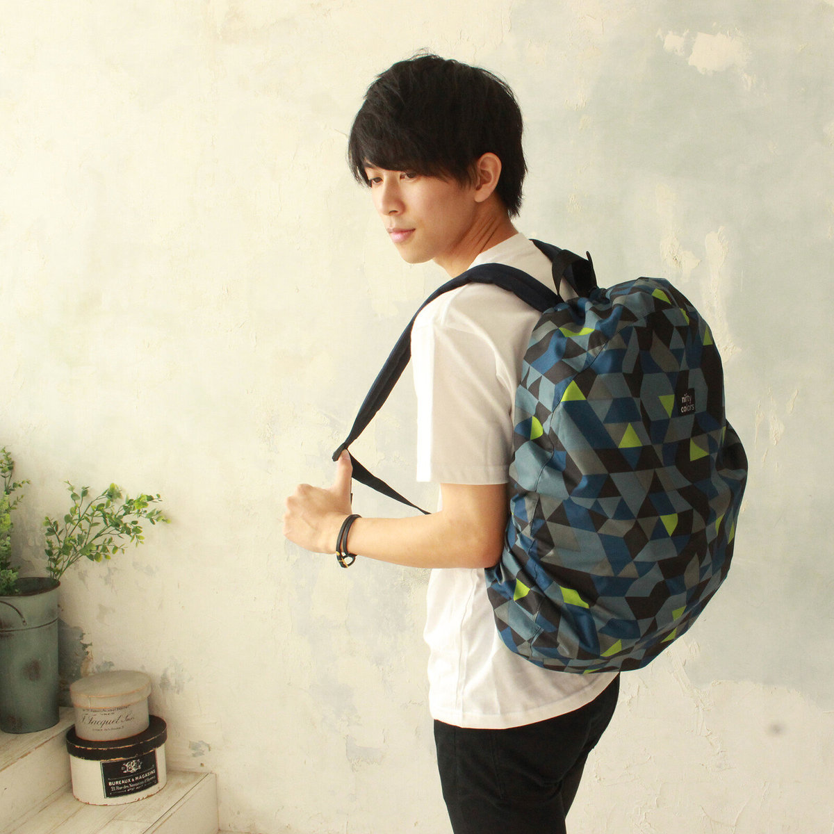 Backpack Rain Cover - Mosaic Camouflage