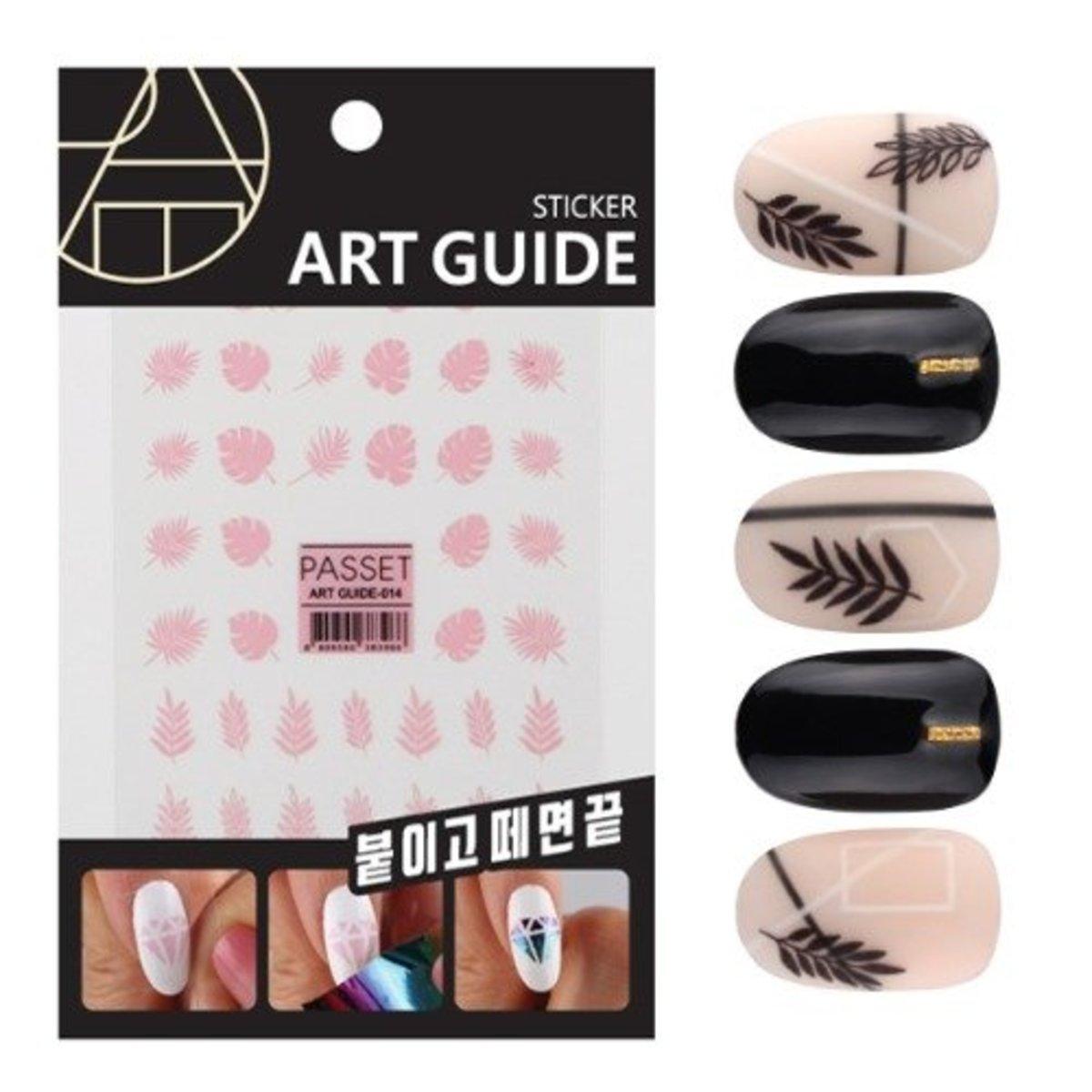 Art Guide Sticker No.14