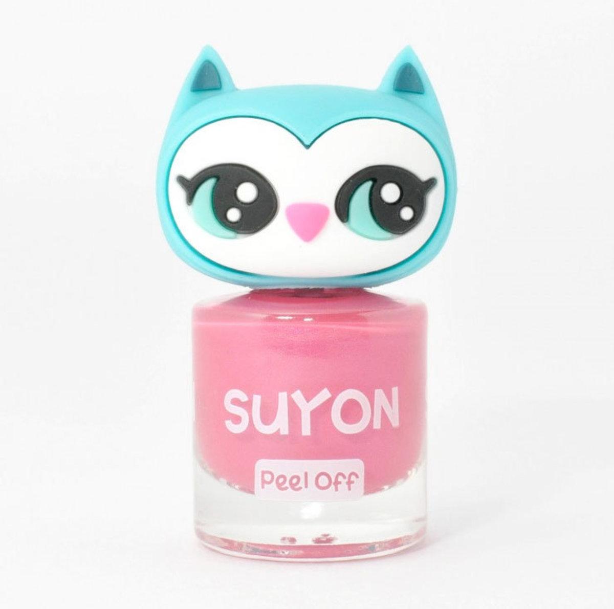 Peelable Kids Polish Awesome Owlia - Pink
