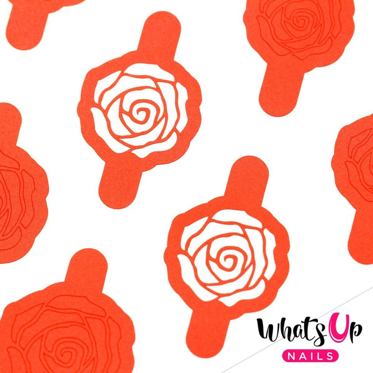 Rose Petals Stencils
