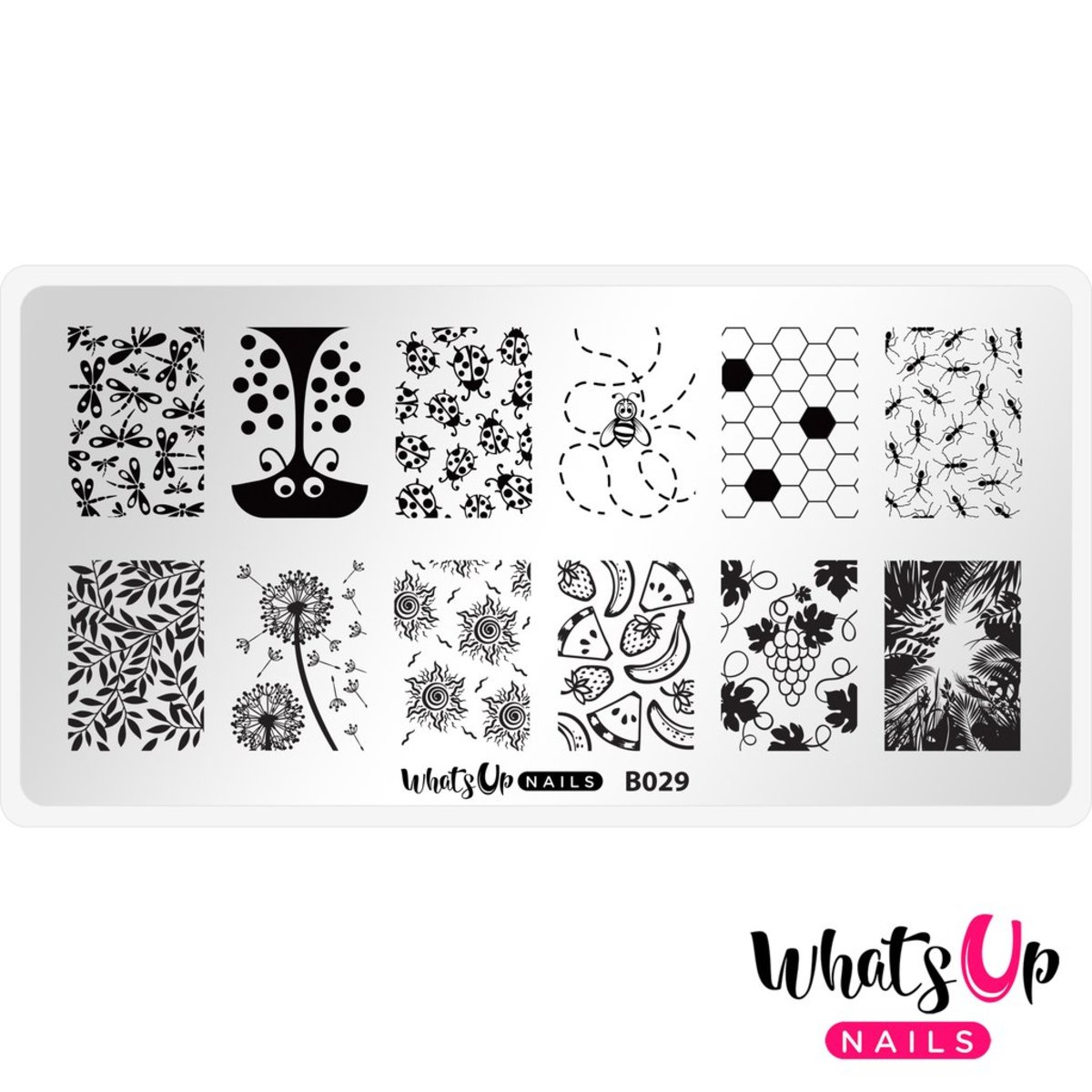 B029 Picnic in the Park Stamping Plate
