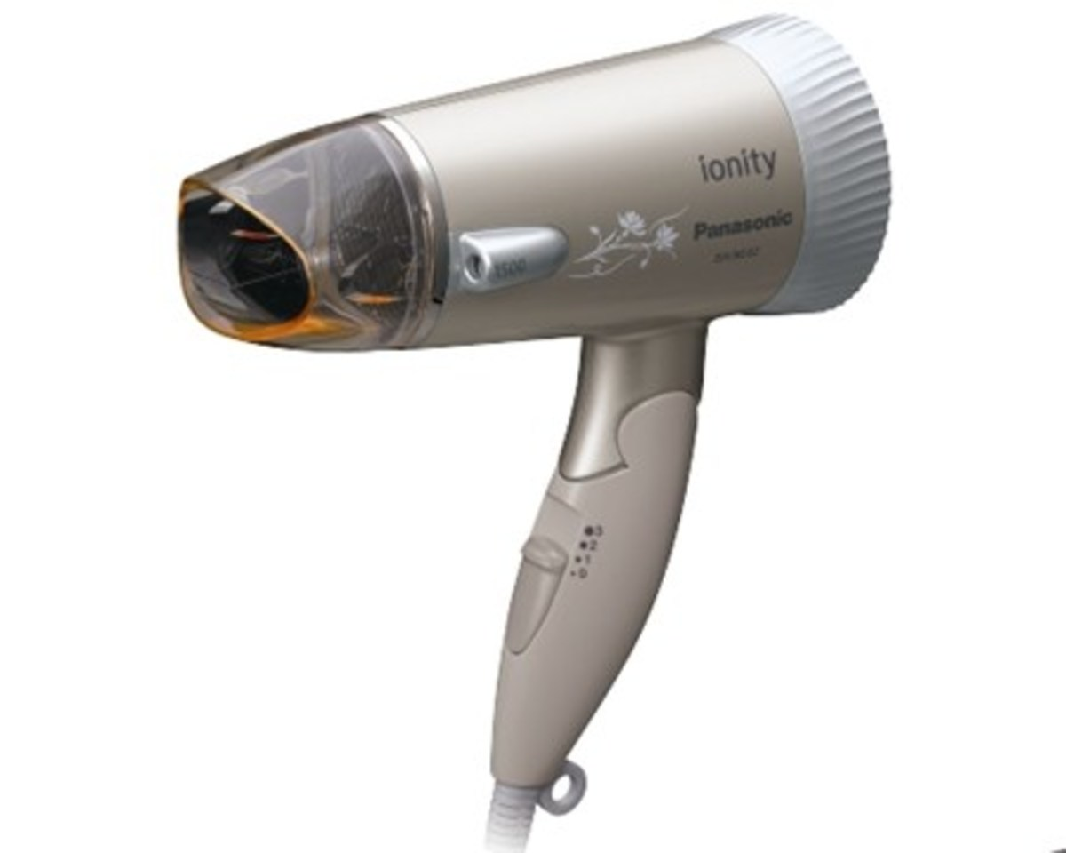 Double Ionity Silent Hair Dryer EHNE42