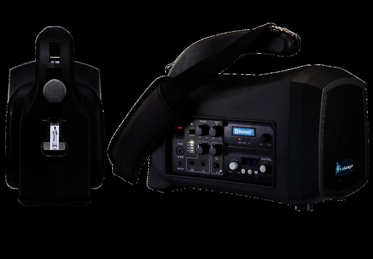 掛肩式無線擴音機GPA-580 送 EJ-601TM 數碼無線手咪 1支