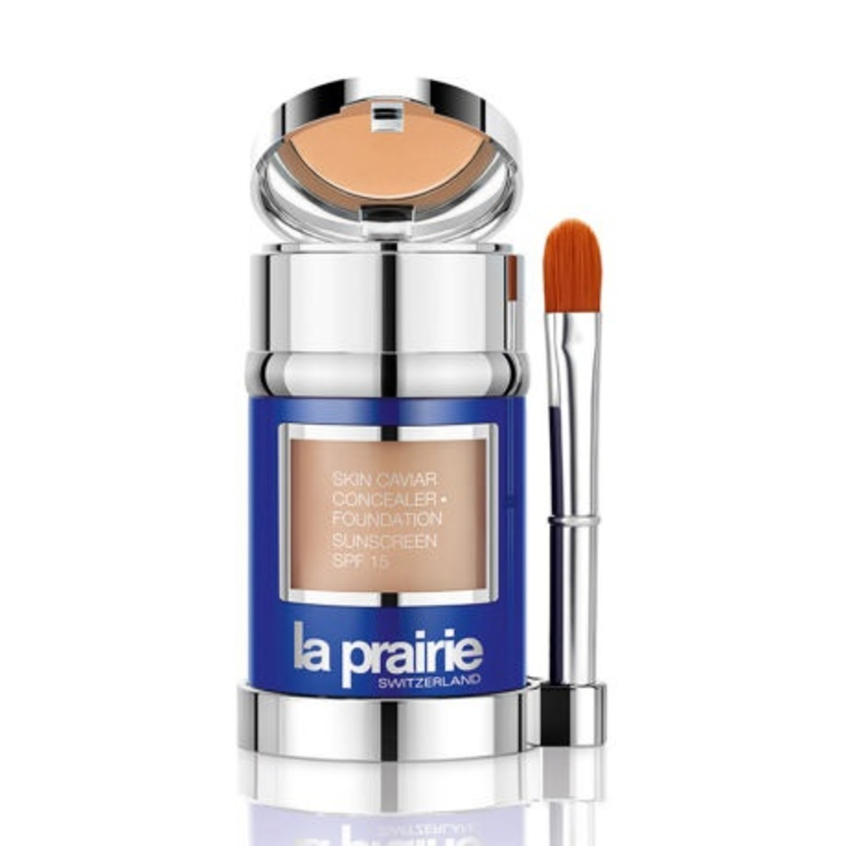 LA PRAIRIE Skin Caviar Concealer Foundation SPF15 TEN IVORY 30ml TEN IVORY [parallel import]
