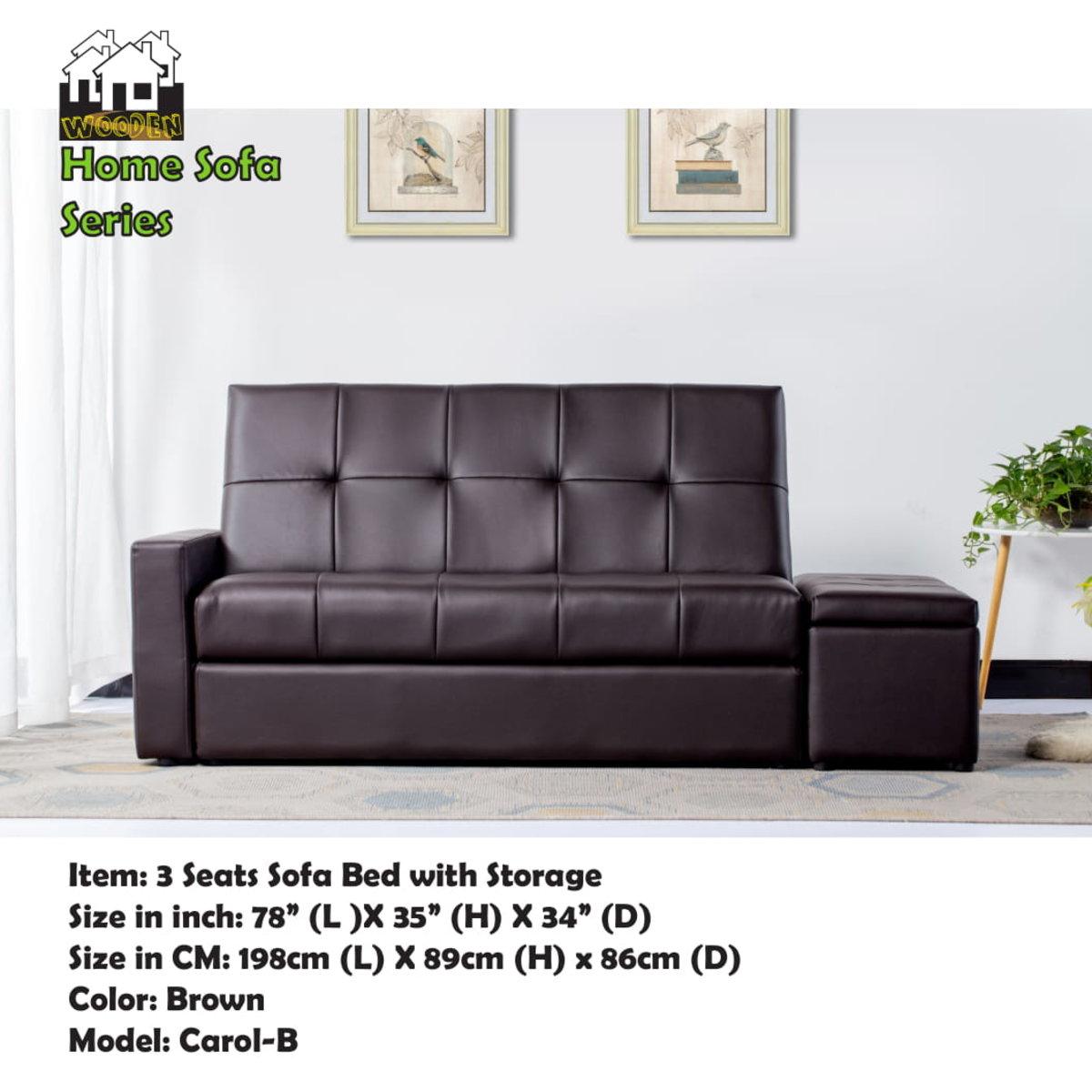 Japanese Wooden Sofa