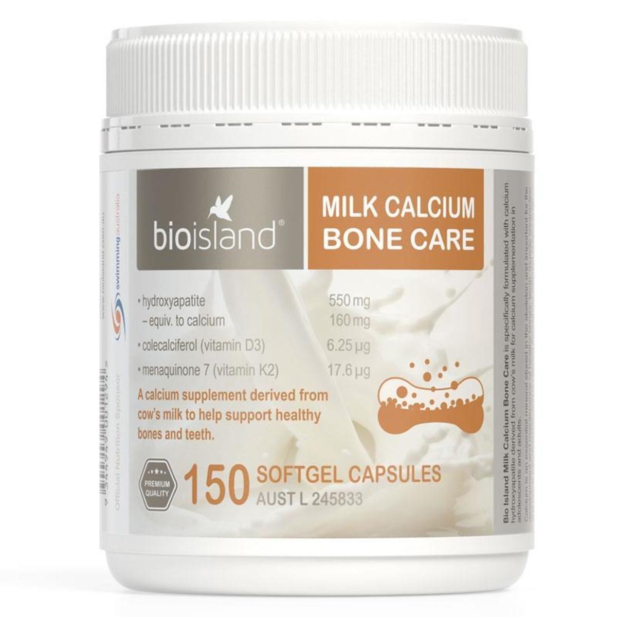 MILK CALCIUM BONE CARE 150capsules