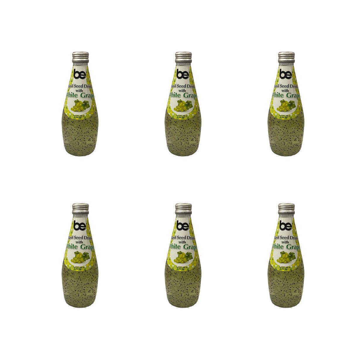 [6支]明列子白葡萄味特飲