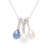 Paul Vallette Jewellery Fashion Crystal Diamond Freshwater Pearl Necklace – PVHB0182-S